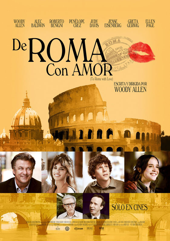 To Rome with Love Poster #4