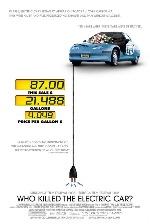 Who Killed the Electric Car? Poster #1