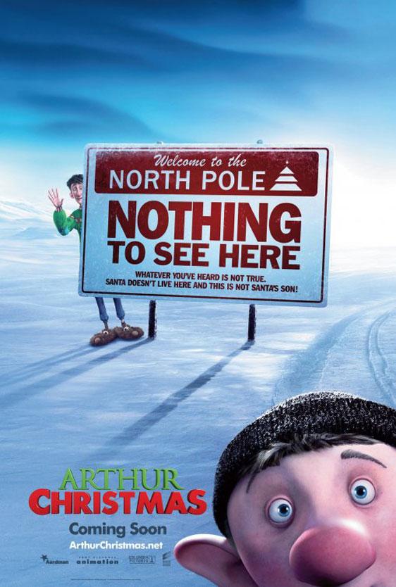 Arthur Christmas Poster #3