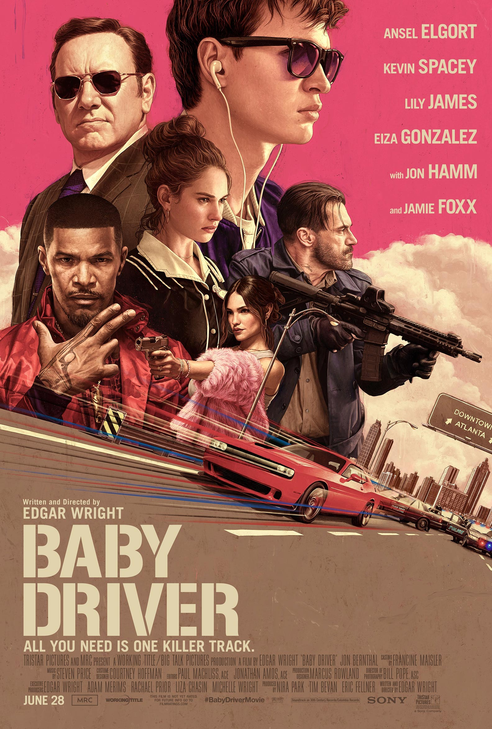 Baby Driver Poster #2