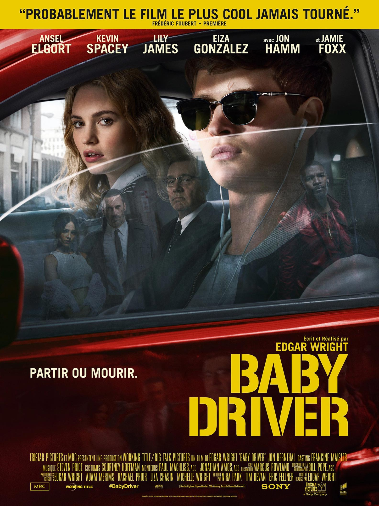 Baby Driver 2017 Poster 3 Trailer Addict
