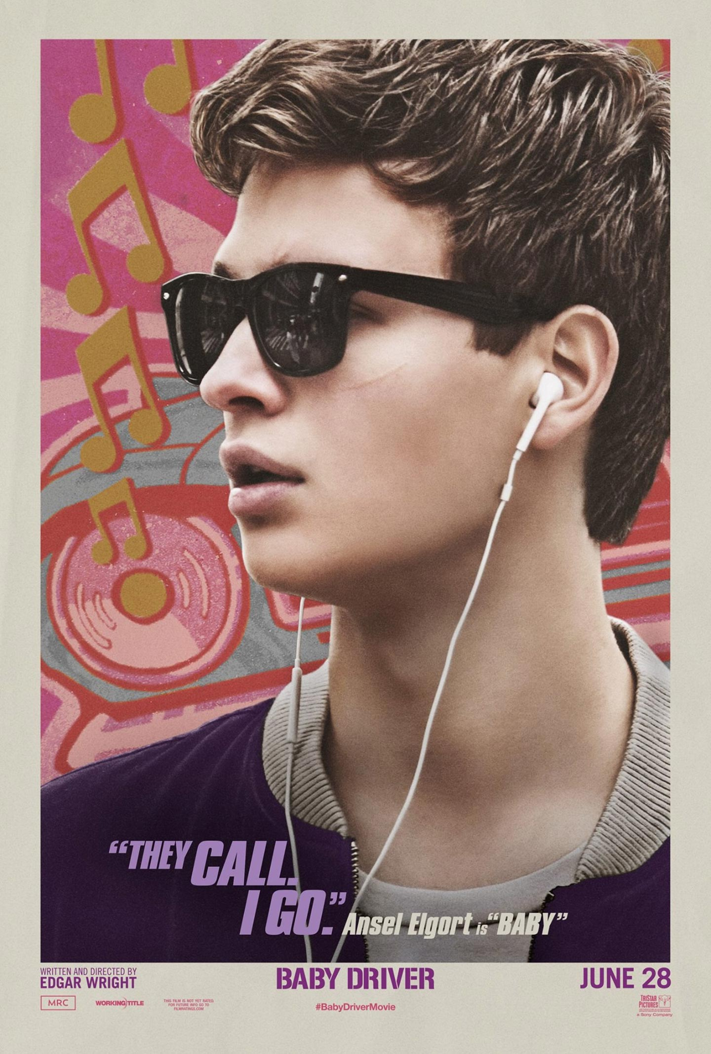 Baby Driver (2017) Poster #4 - Trailer Addict