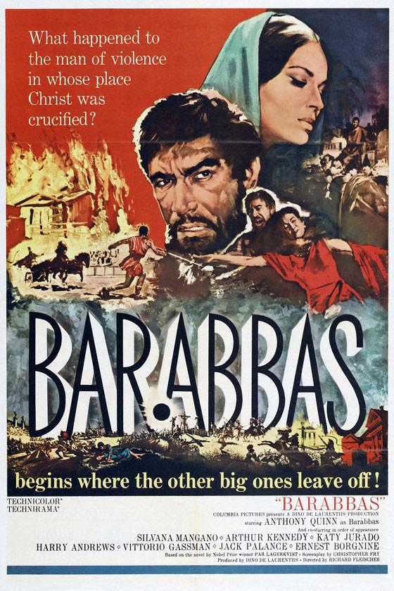 Barabbas Poster #1