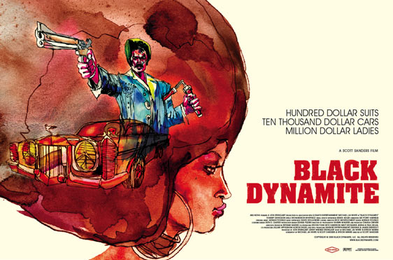Black Dynamite Poster #3