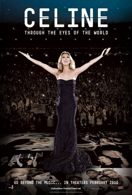 Celine: Through The Eyes Of The World Poster #1