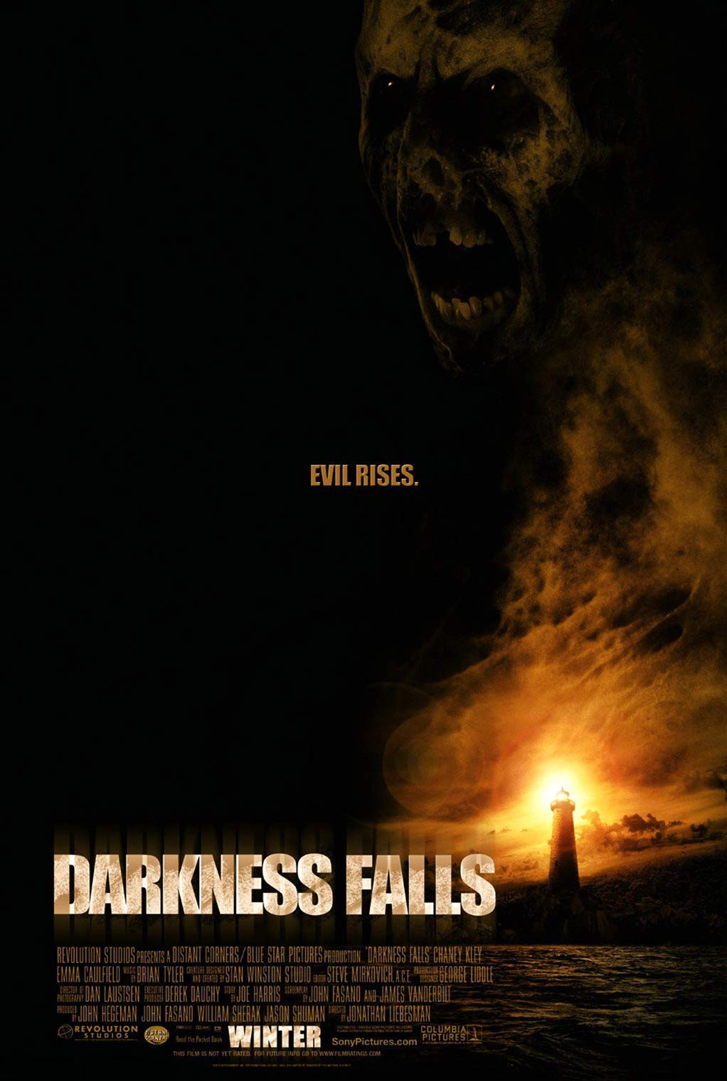 Darkness Falls Poster #1