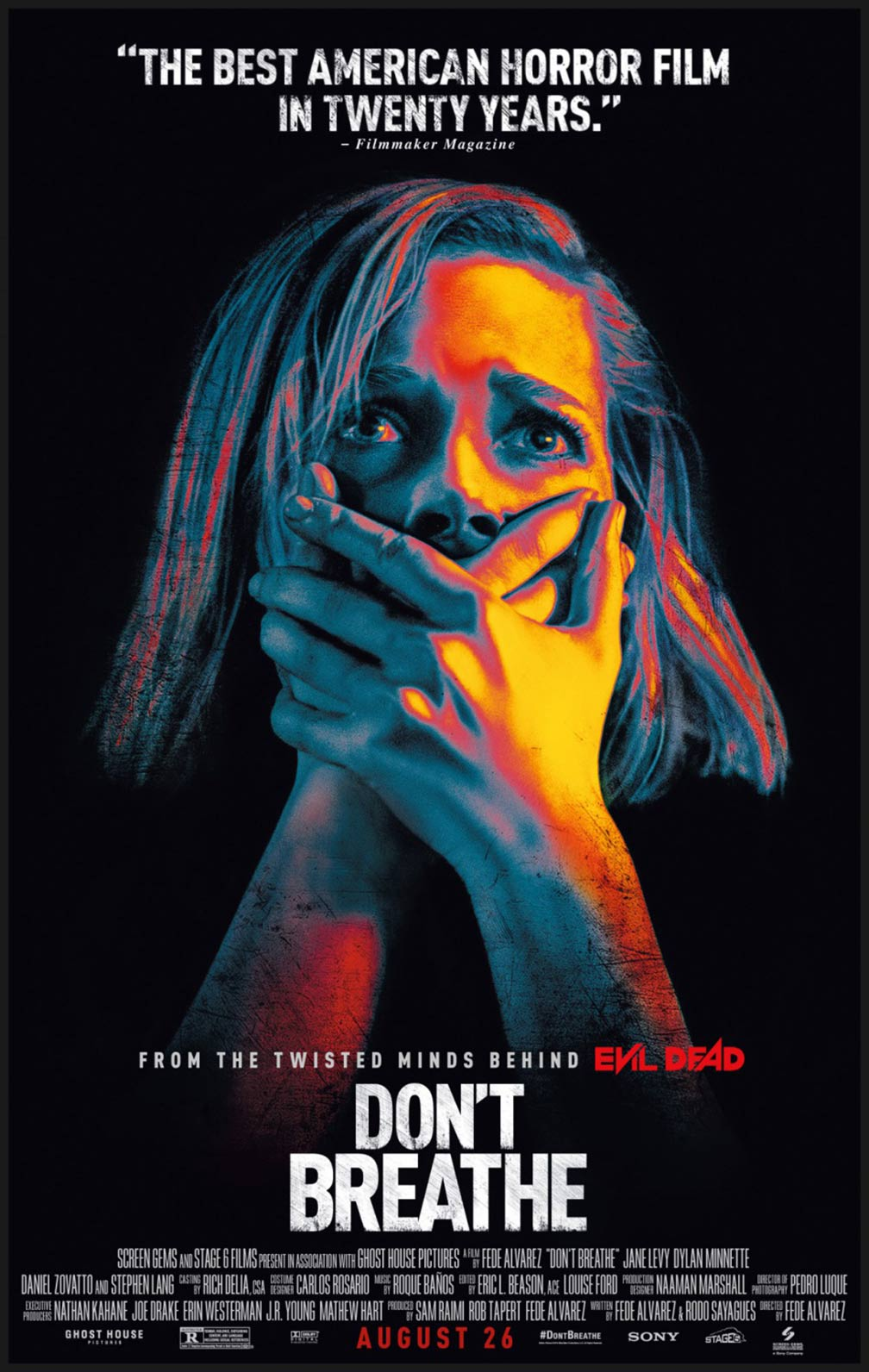 Don't Breathe Poster #4