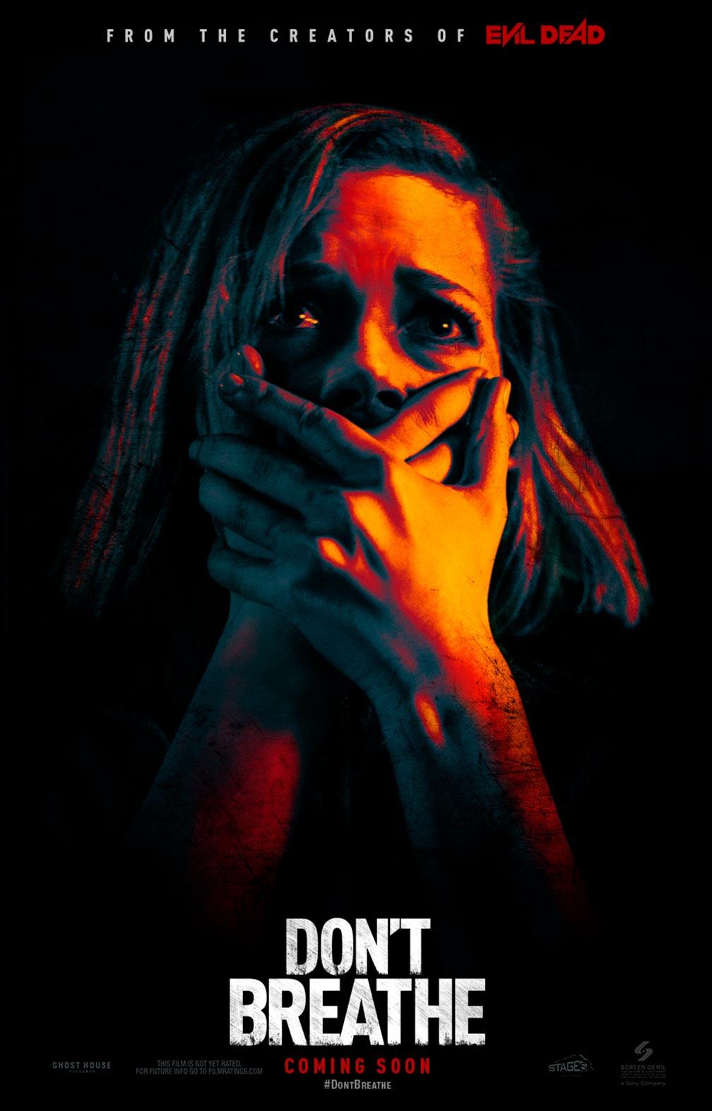 Don't Breathe (2016) Poster #2 - Trailer Addict