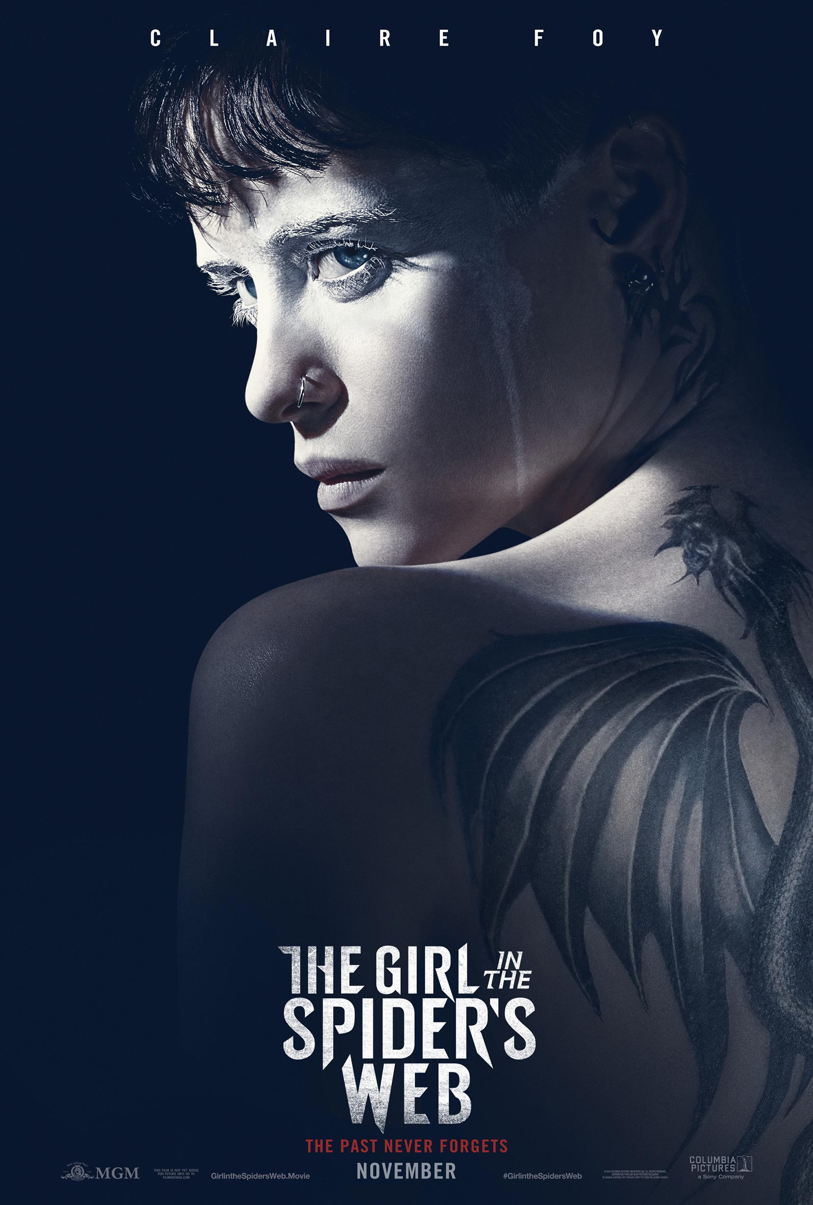 The Girl in the Spider's Web Poster #1