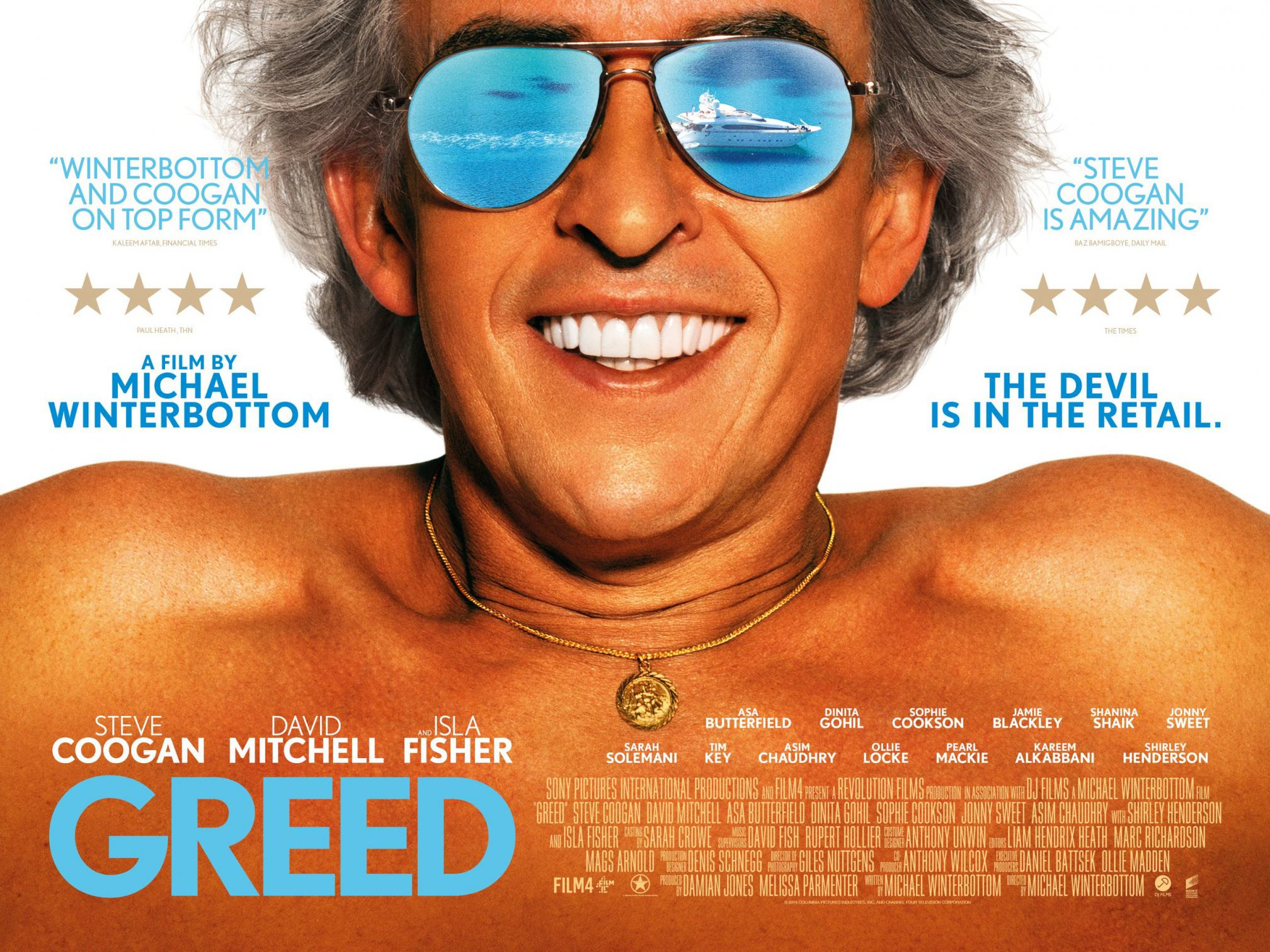 Greed Poster #1