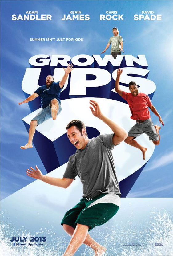 Grown Ups 2 Poster #1