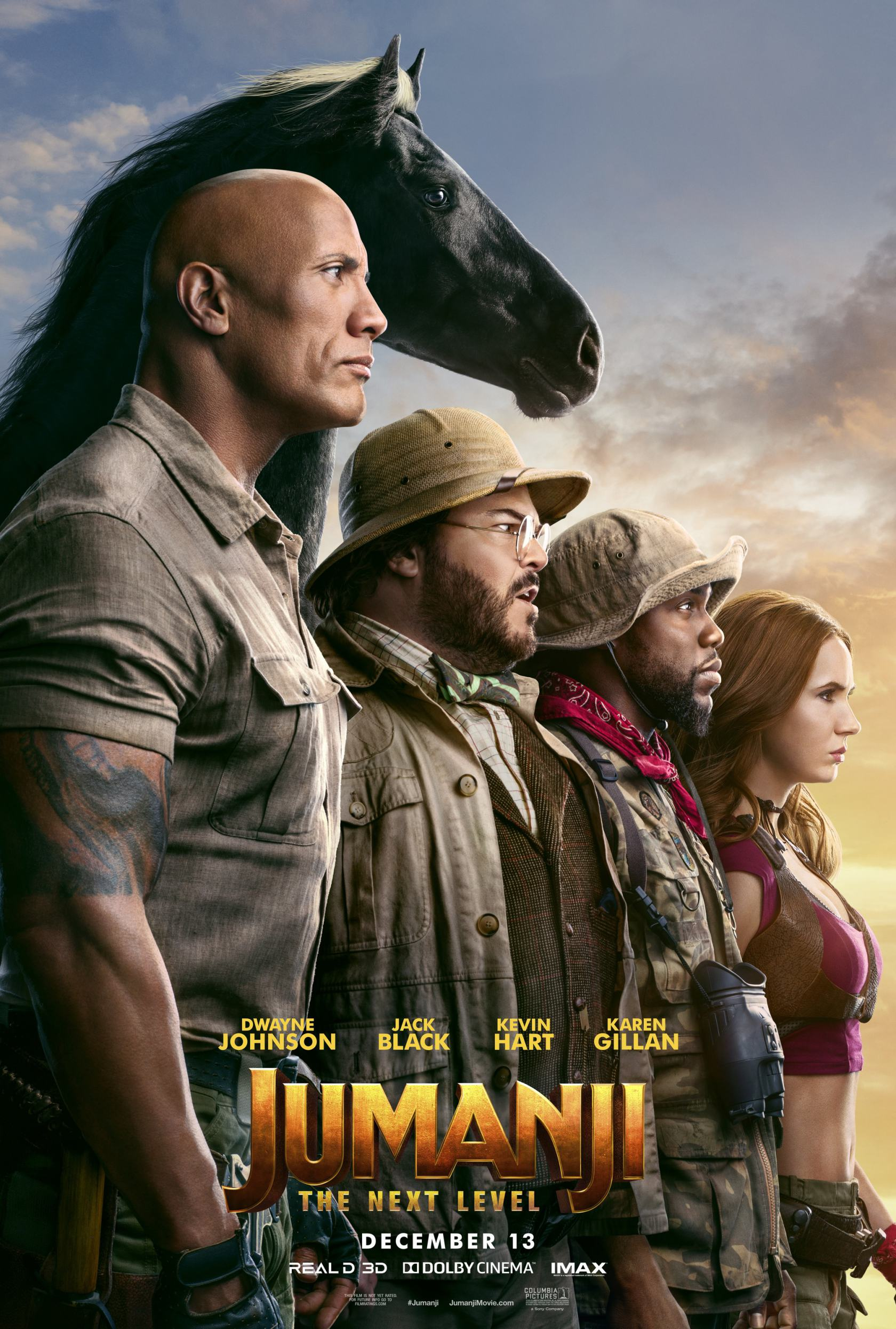 Jumanji: The Next Level Poster #1