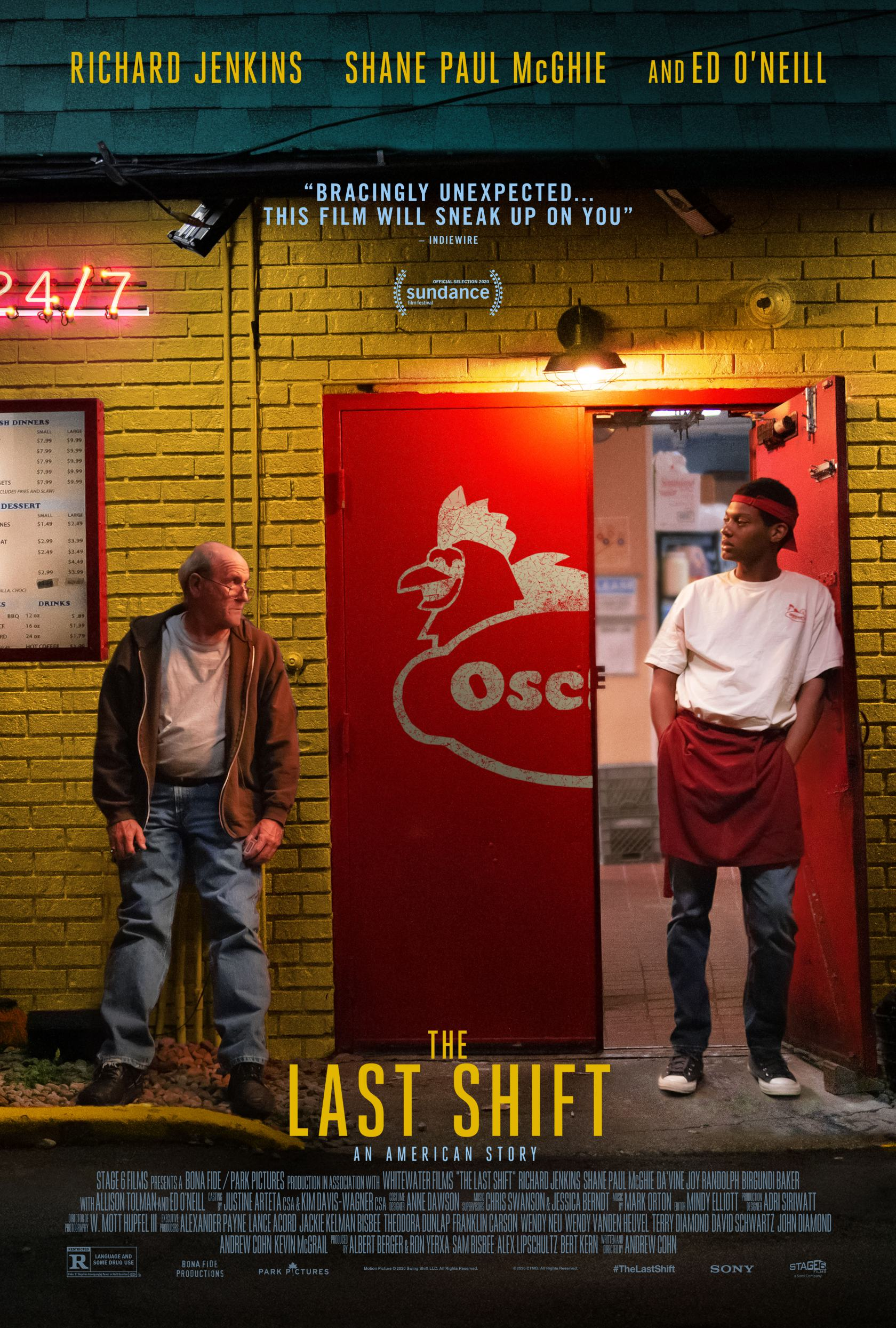 The Last Shift Poster #1