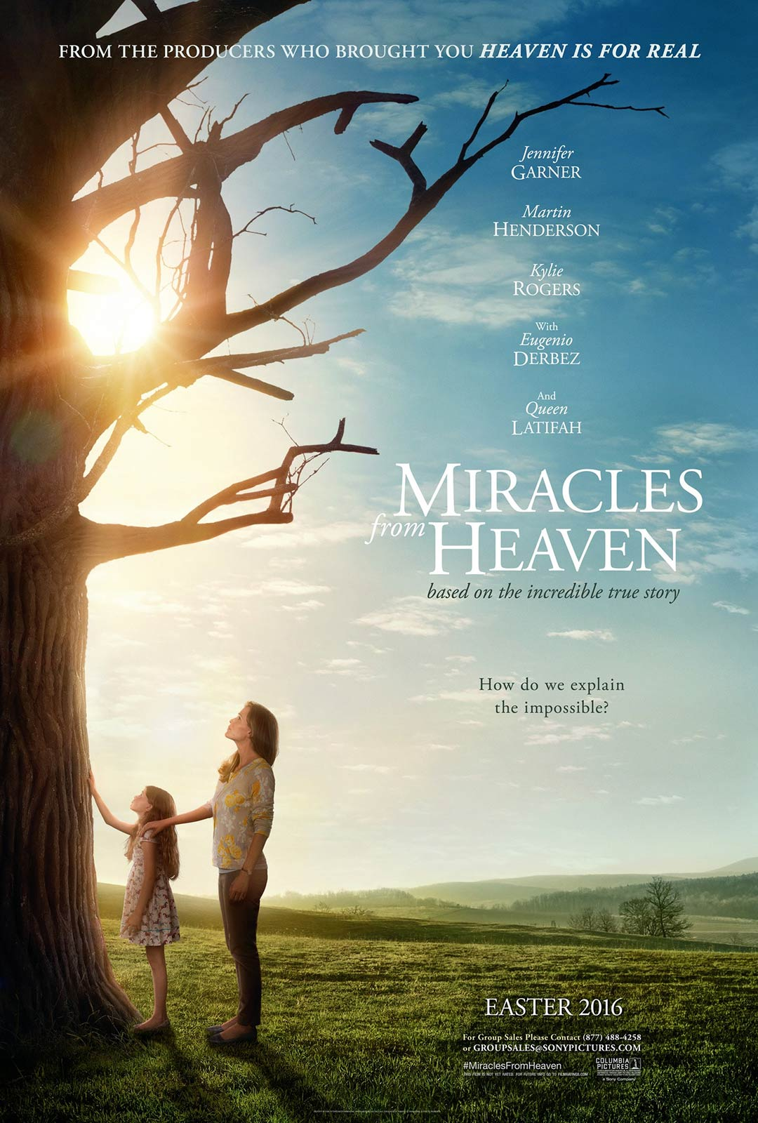 Miracles from Heaven Poster #1