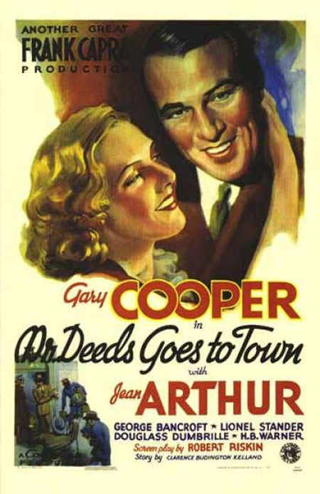 Mr. Deeds Goes to Town Poster #1
