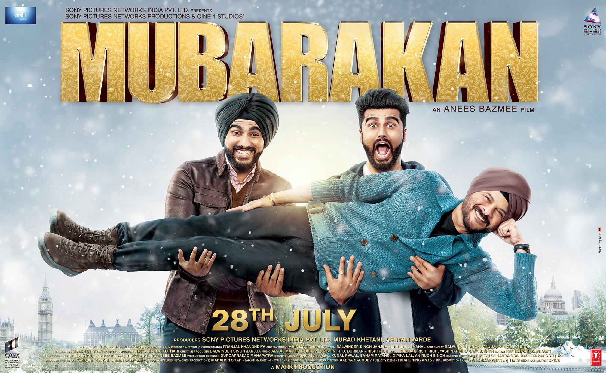 Mubarakan Poster #1
