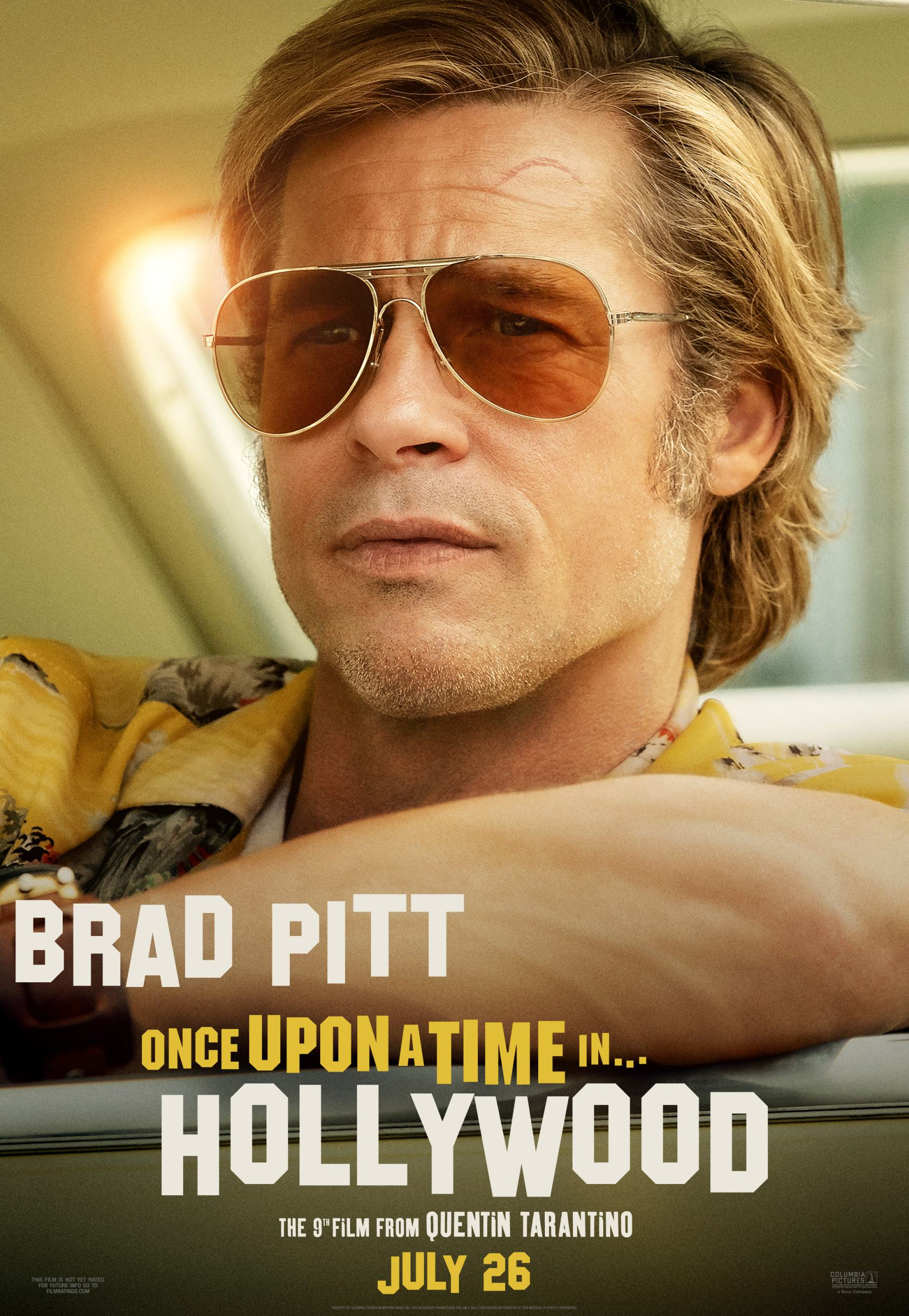 Once Upon A Time In Hollywood 2019 Poster 8 Trailer Addict