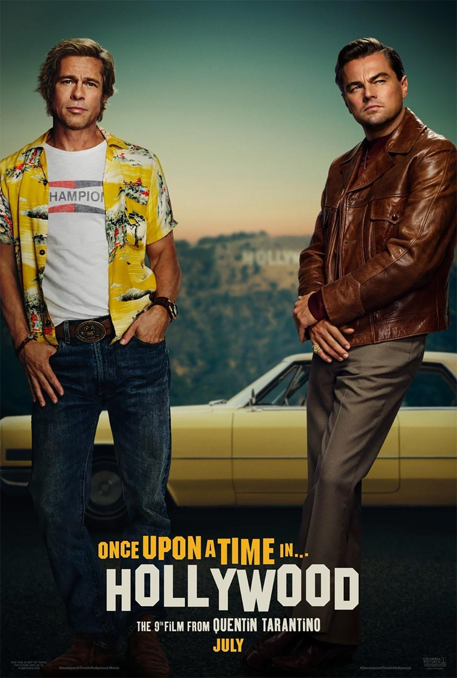 Once Upon a Time in Hollywood Poster #1