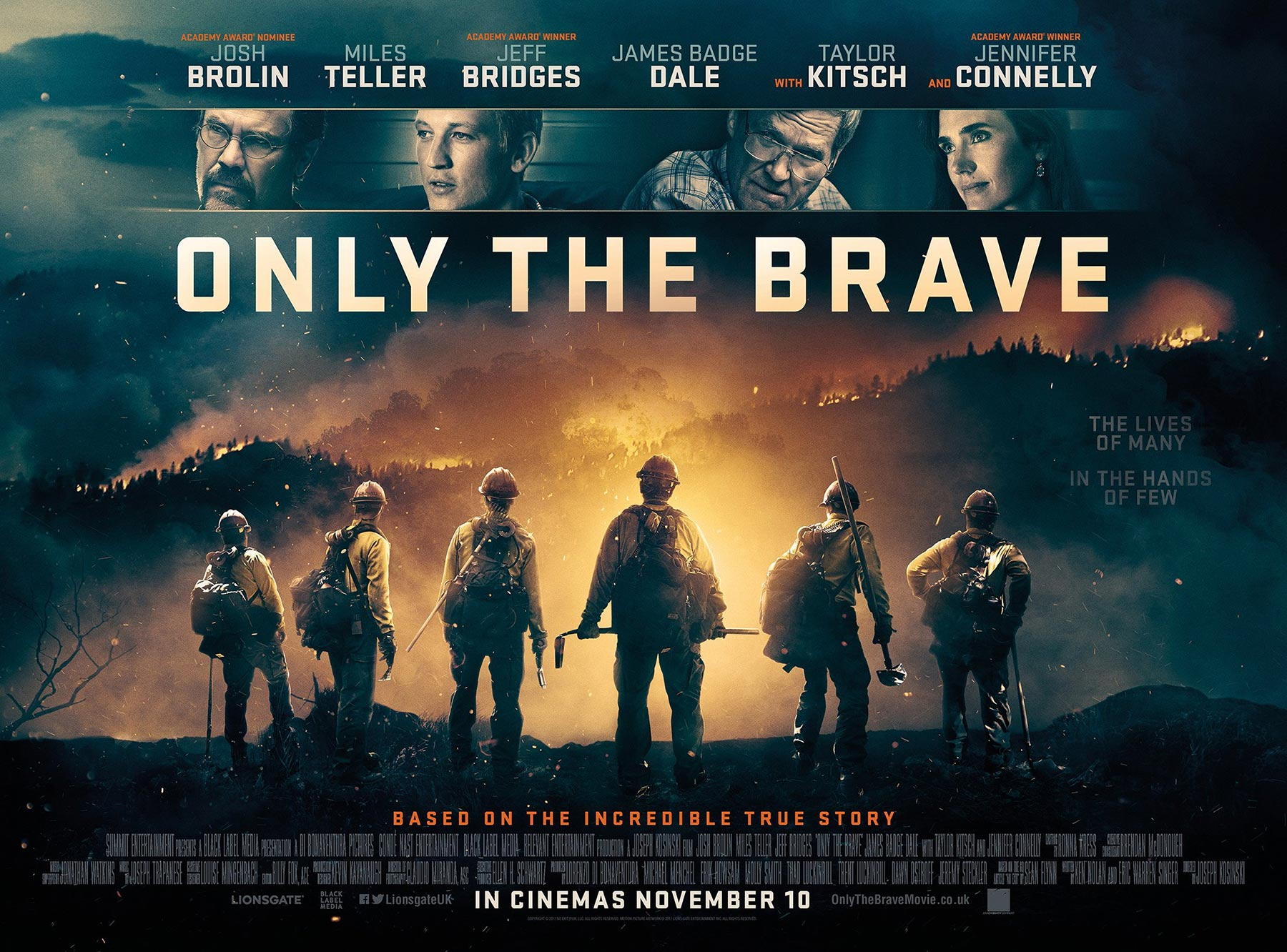2017 Movie Posters: Only The Brave (2017) Poster #1