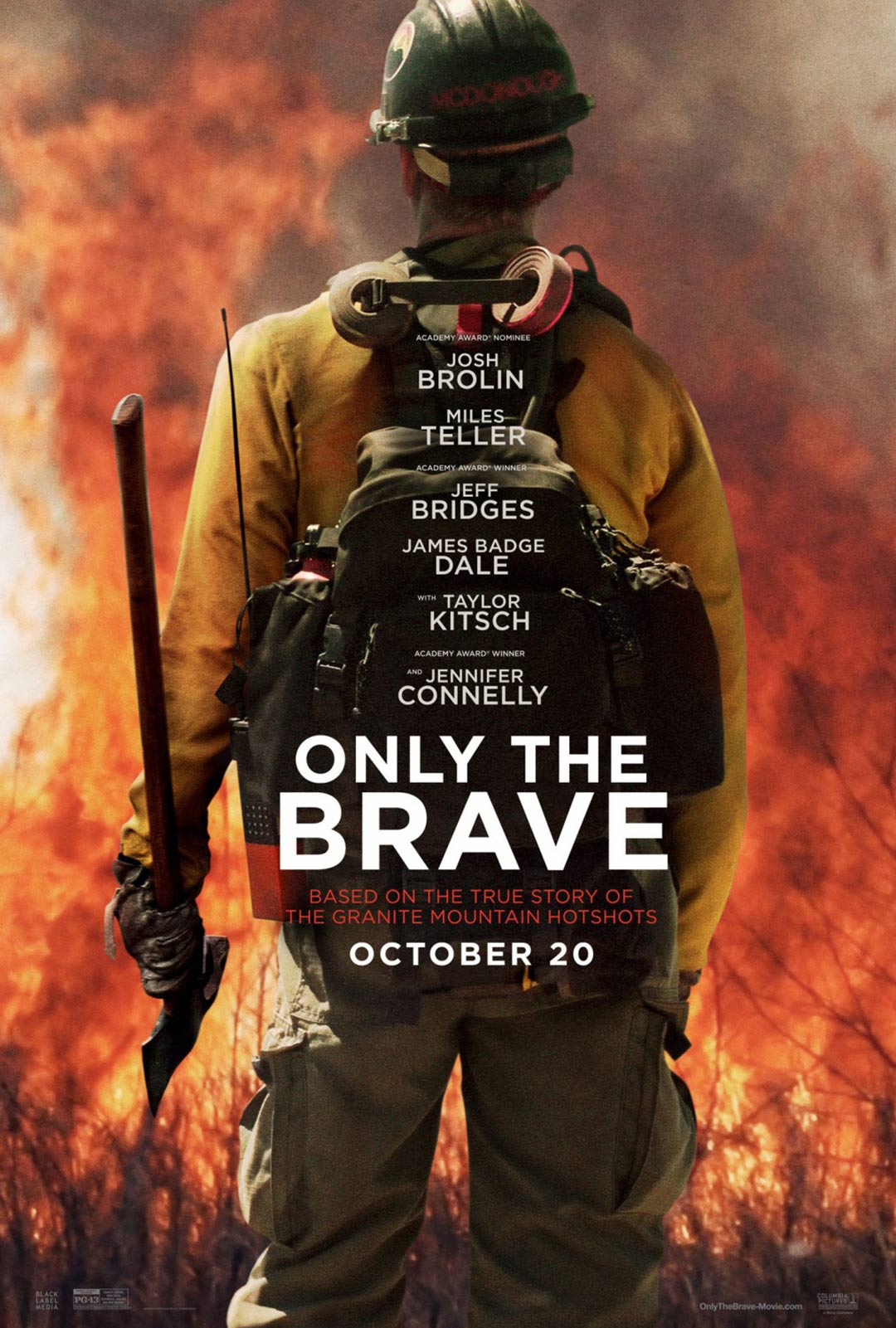 Only the Brave Poster #1