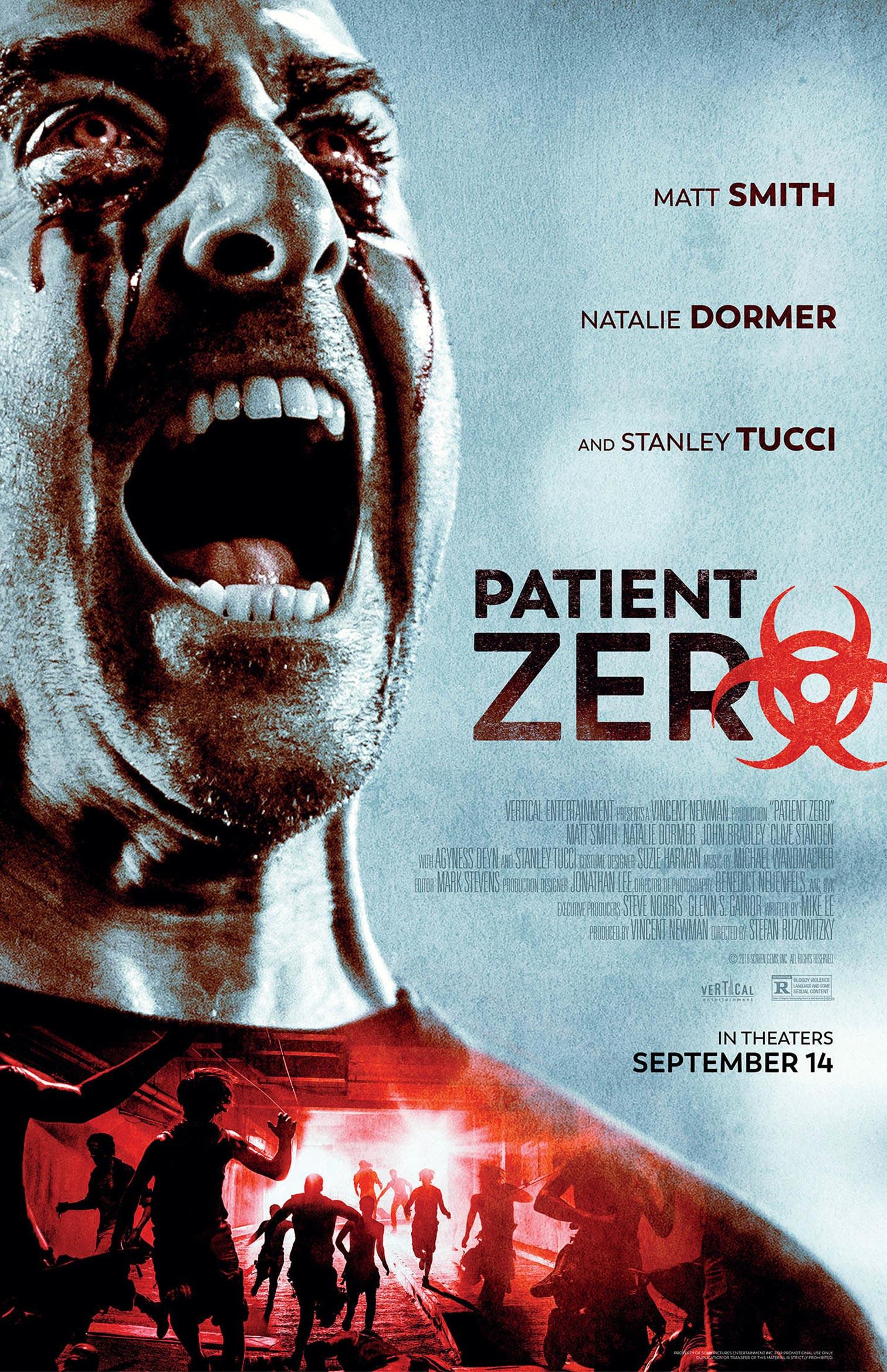 Patient Zero Poster #1
