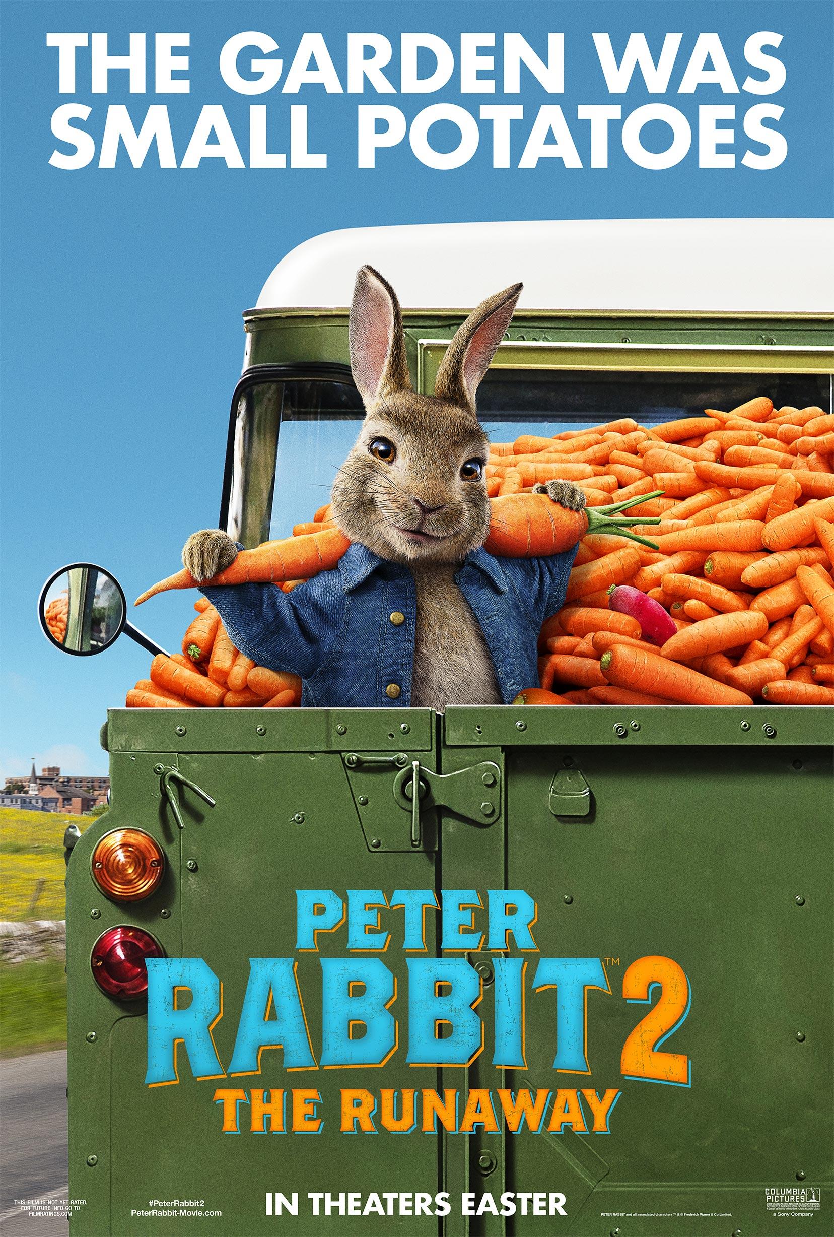 Peter Rabbit 2: The Runaway Poster #1