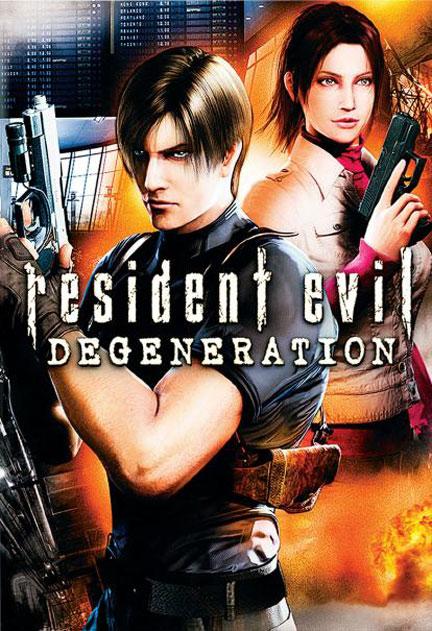 Resident Evil: Degeneration Poster #1