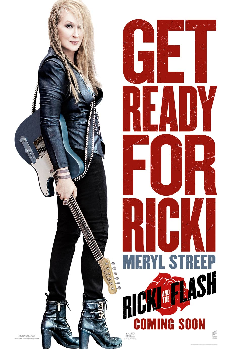 Ricki and the Flash Poster #1
