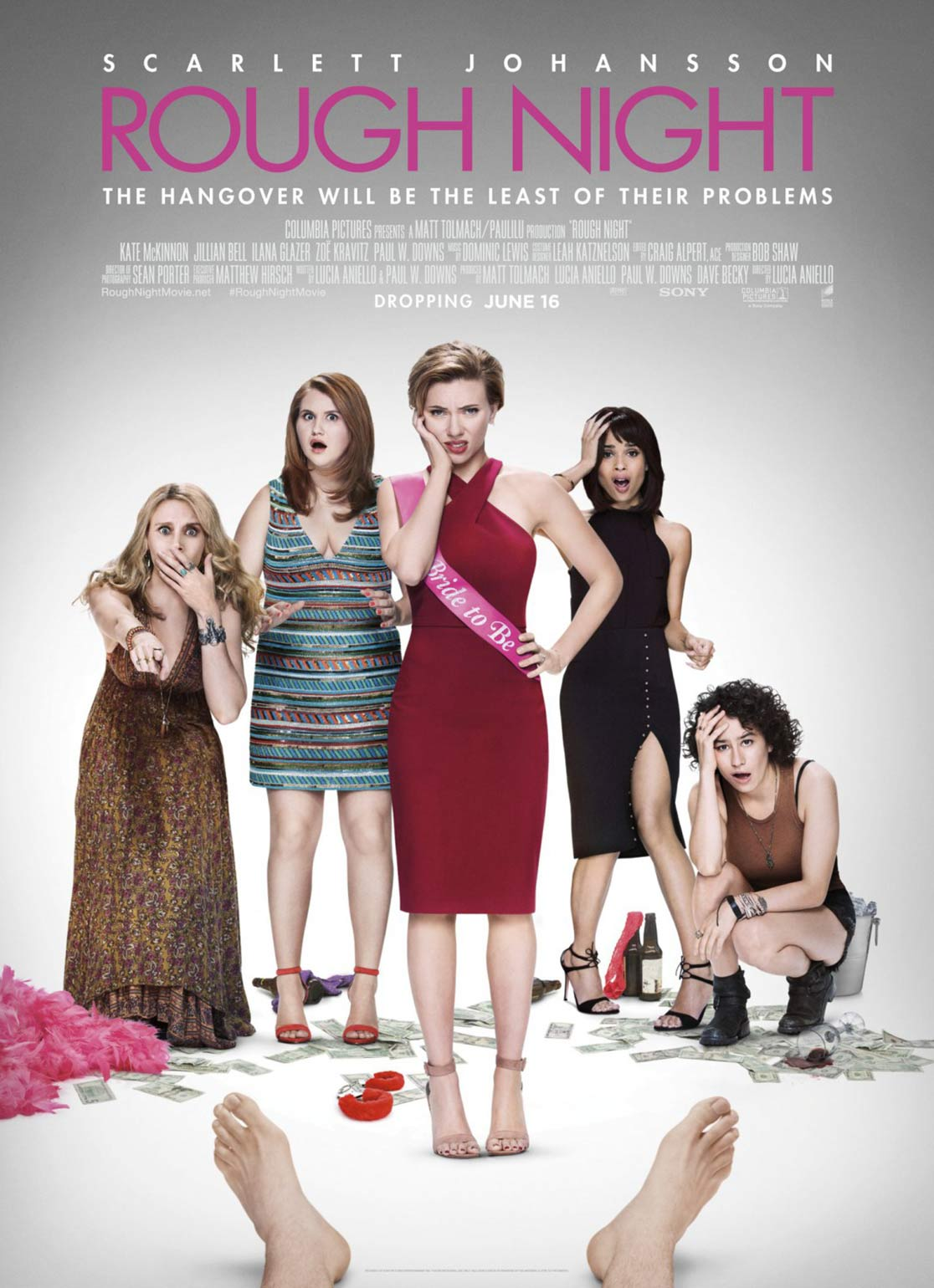 Rough Night Poster #12