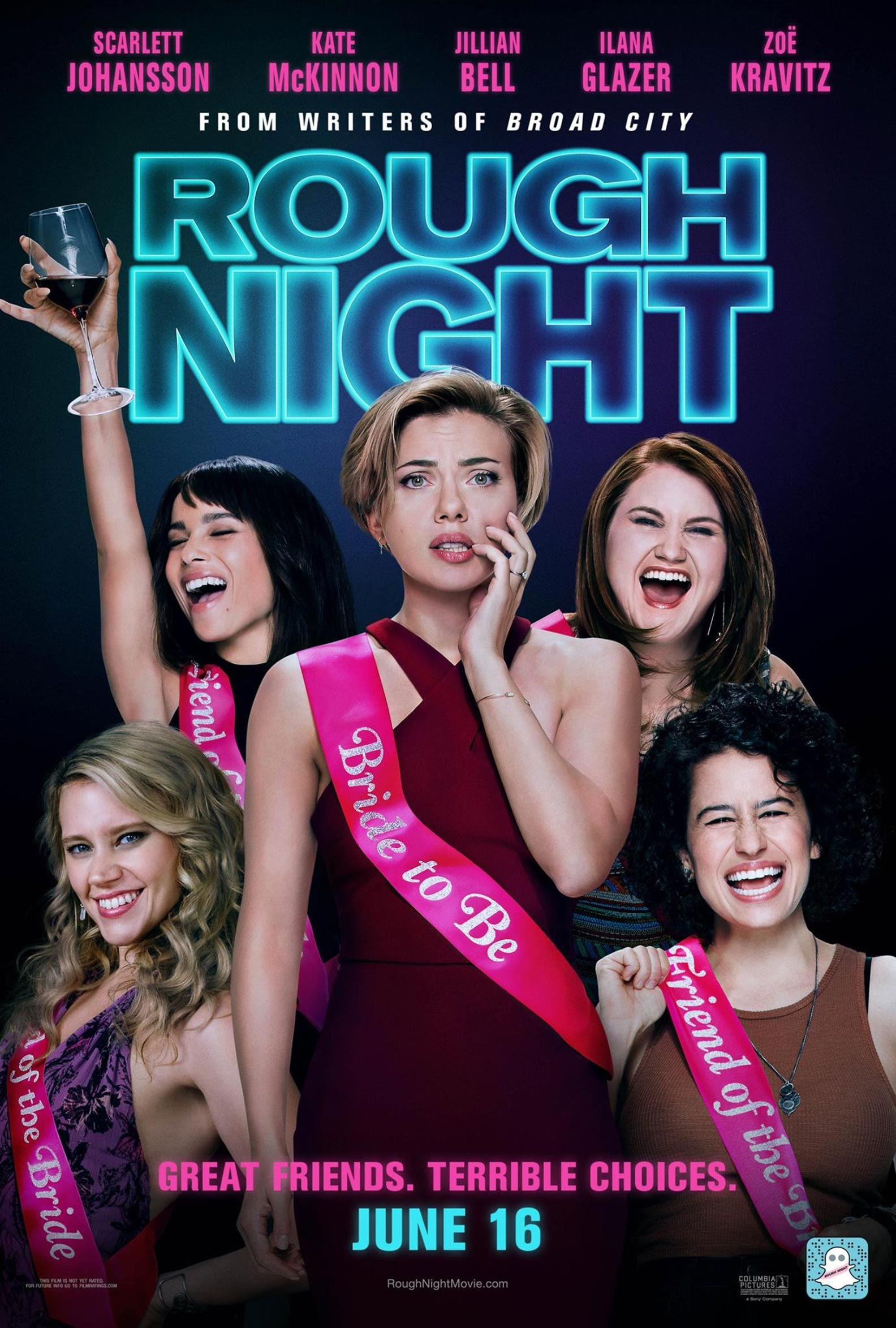 Rough Night Poster #13