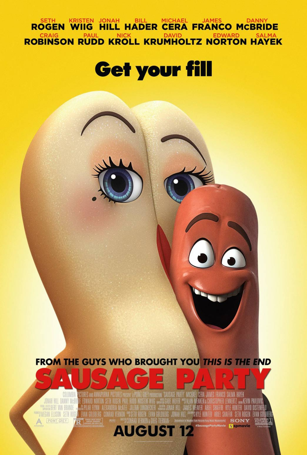 Sausage Party Poster #2