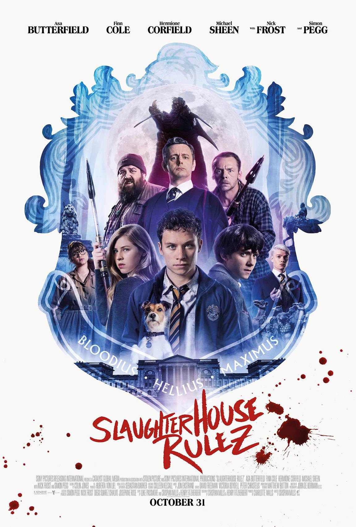 Slaughterhouse Rulez Poster #1