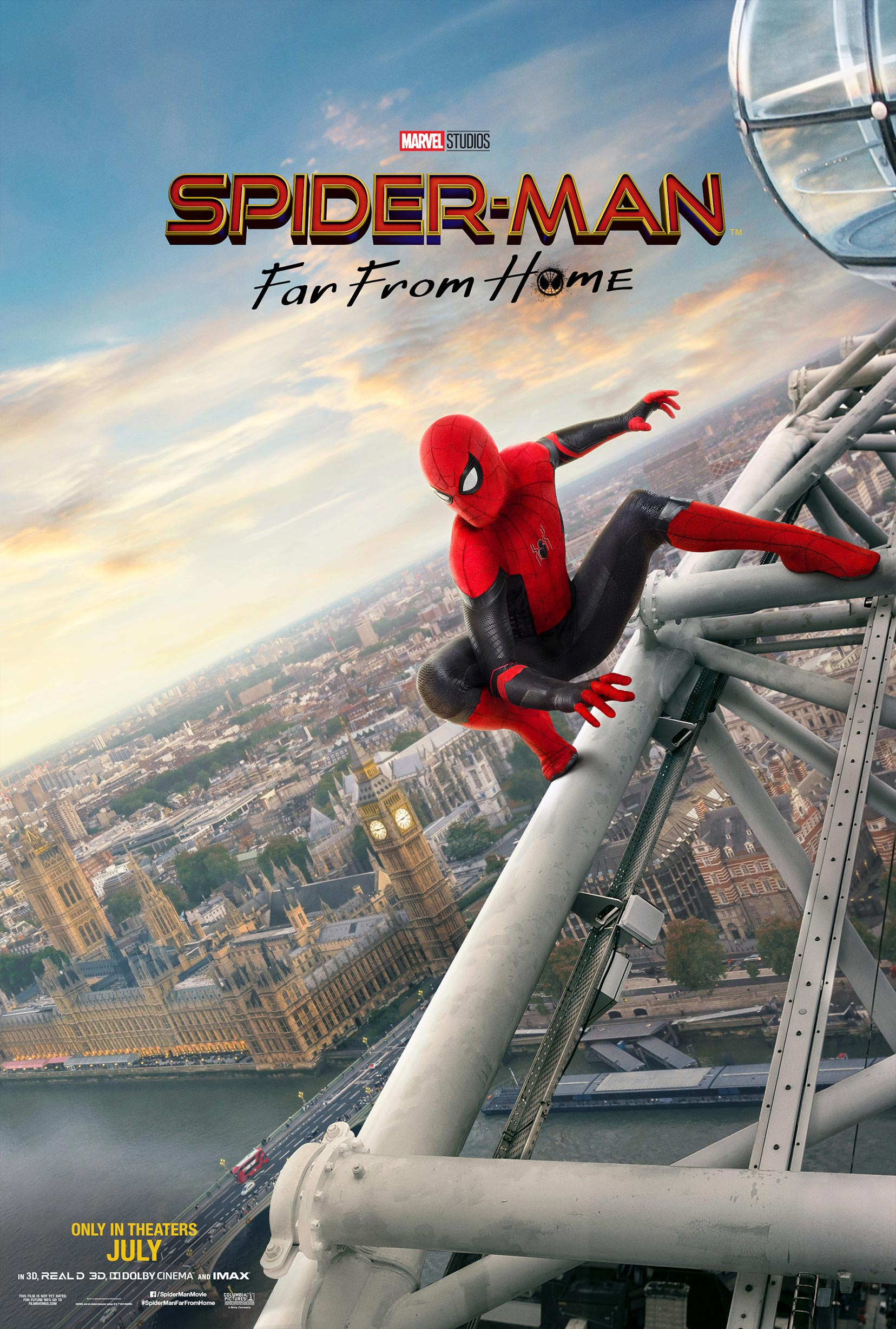 Spider-Man: Far From Home Poster #3