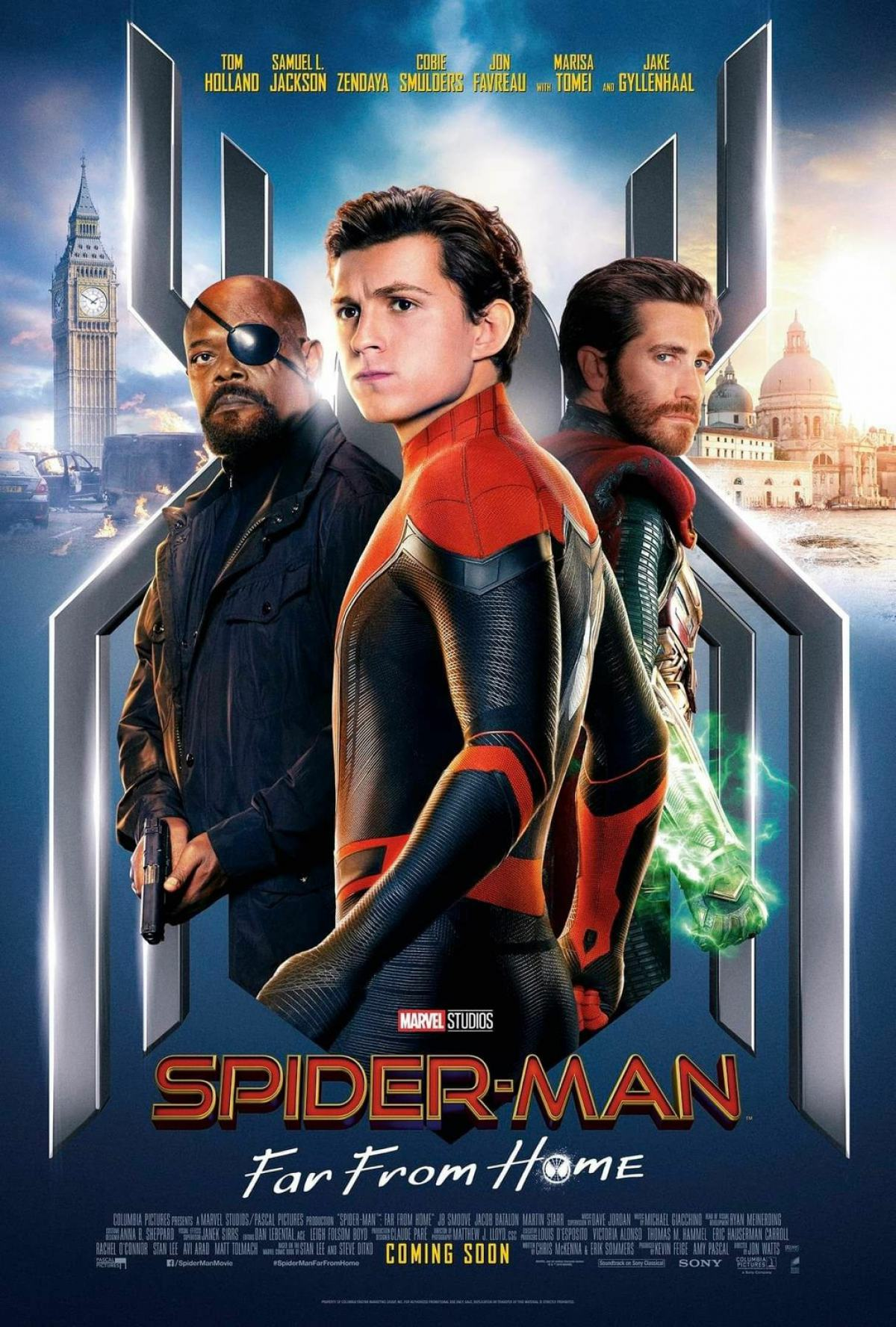Spider-Man: Far From Home Poster #5