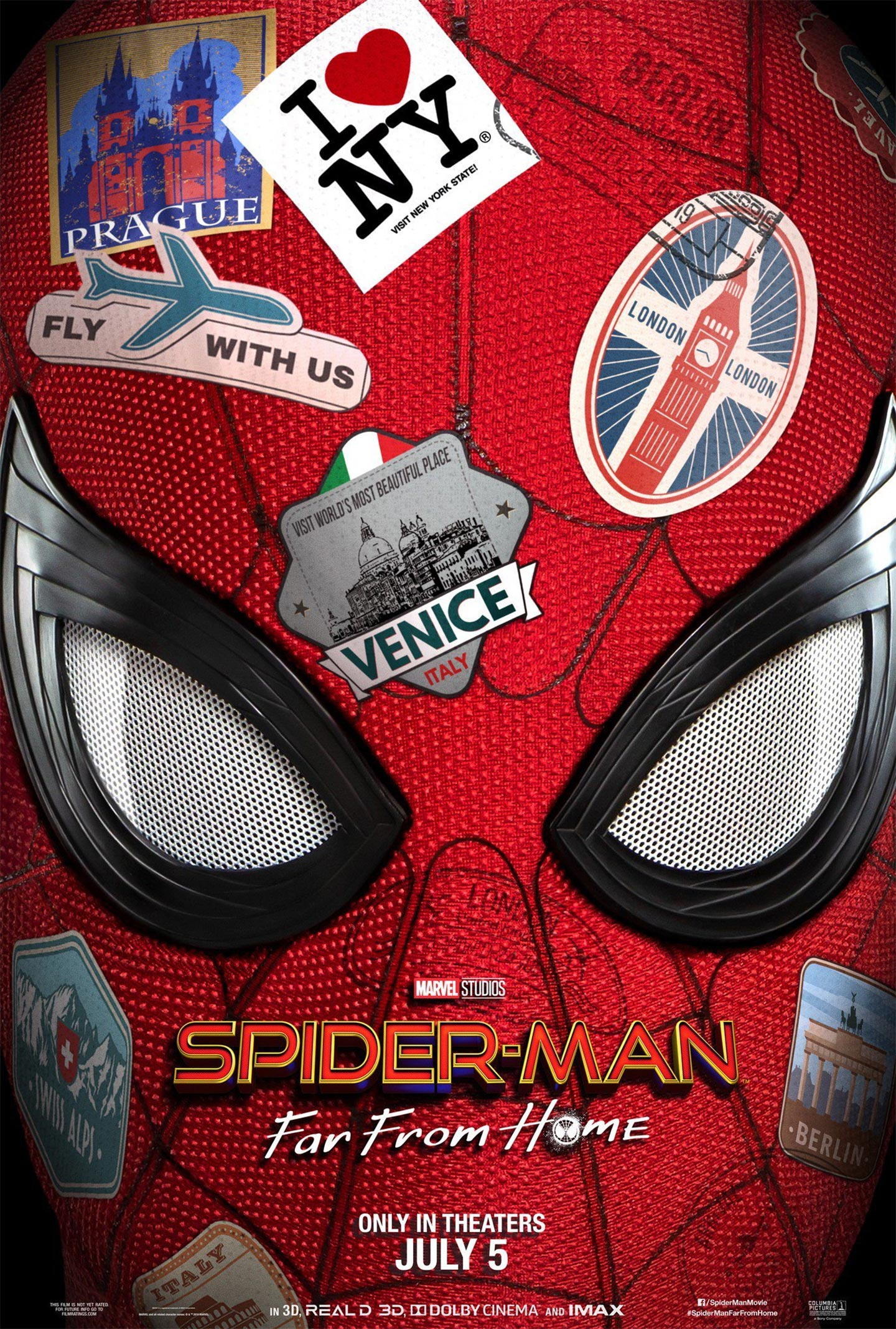 Spider-Man: Far From Home Poster #1