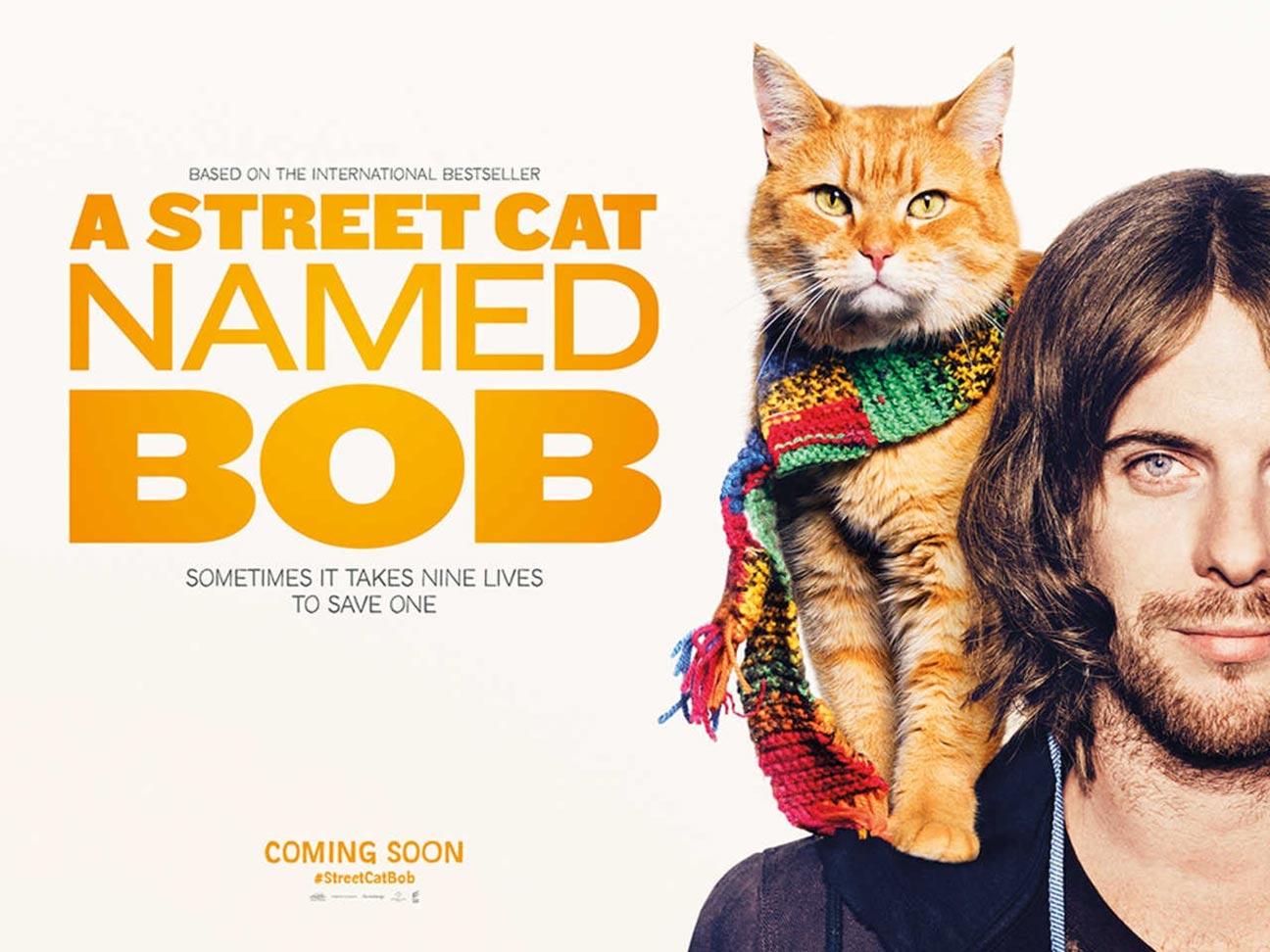 A Street Cat Named Bob Poster #1