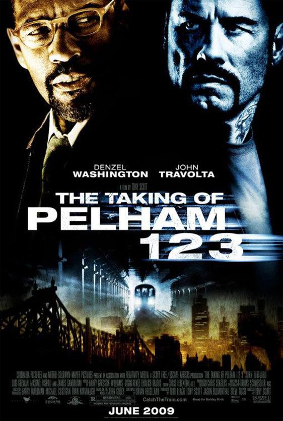 The Taking of Pelham 1 2 3 Poster #1