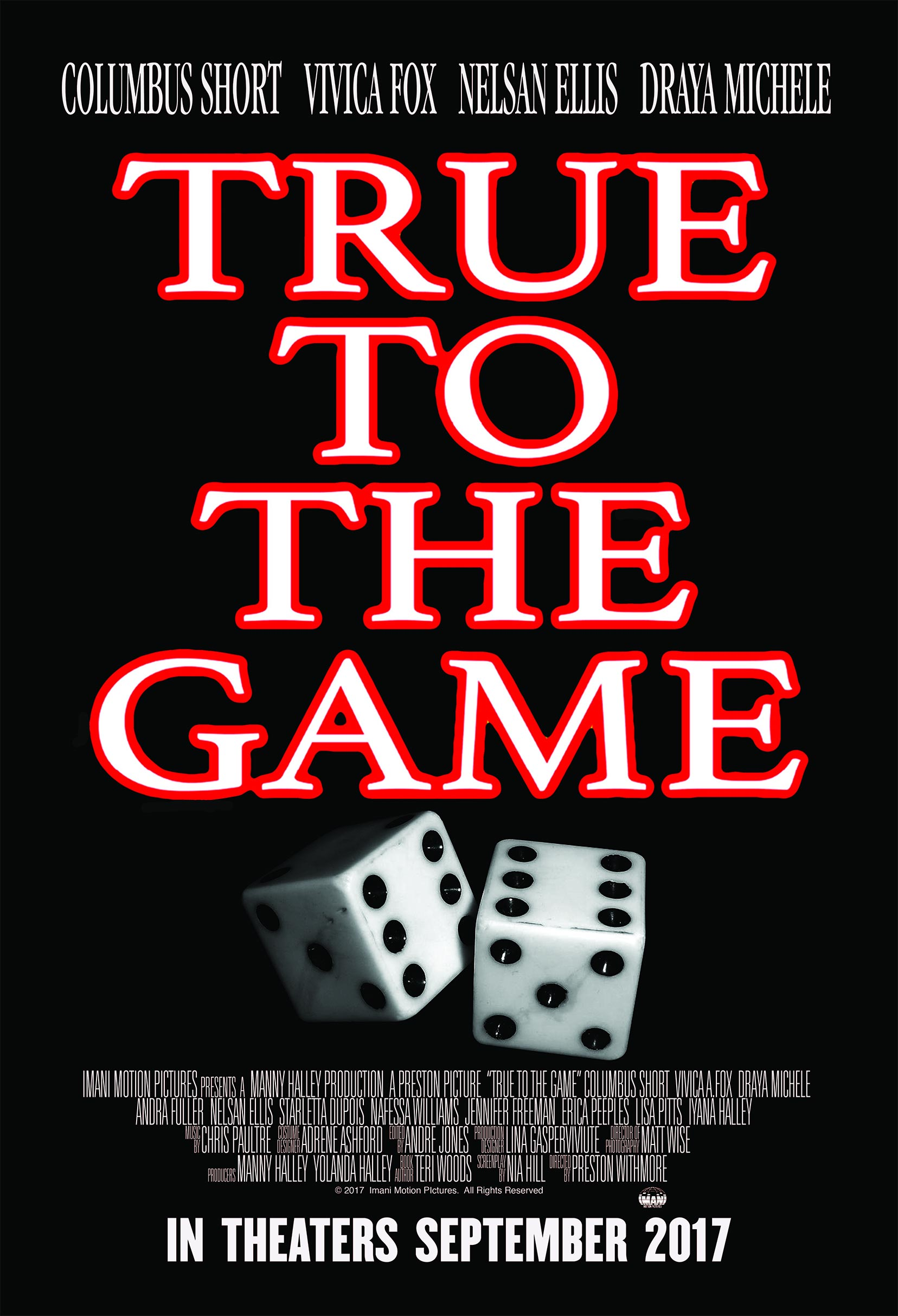 True to the Game Poster #1