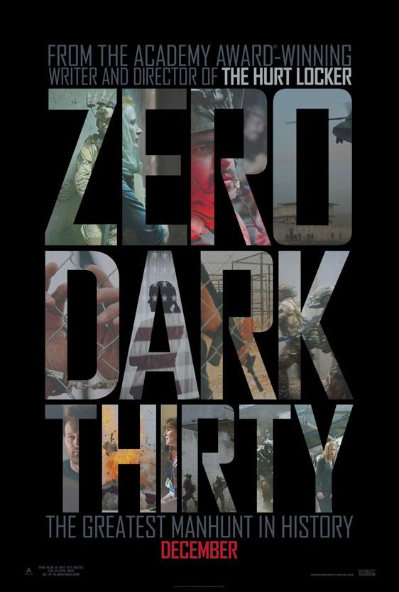 Zero Dark Thirty Poster #3