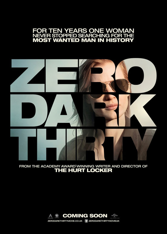 Zero Dark Thirty Poster #4
