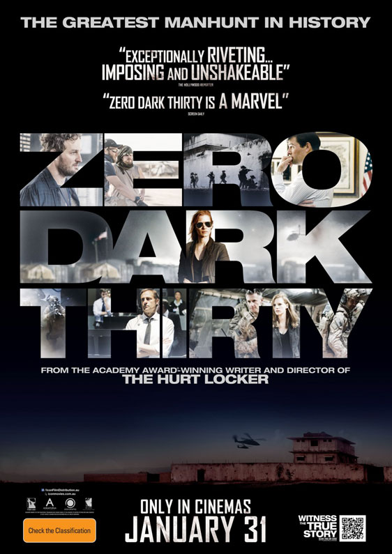 Zero Dark Thirty Poster #5