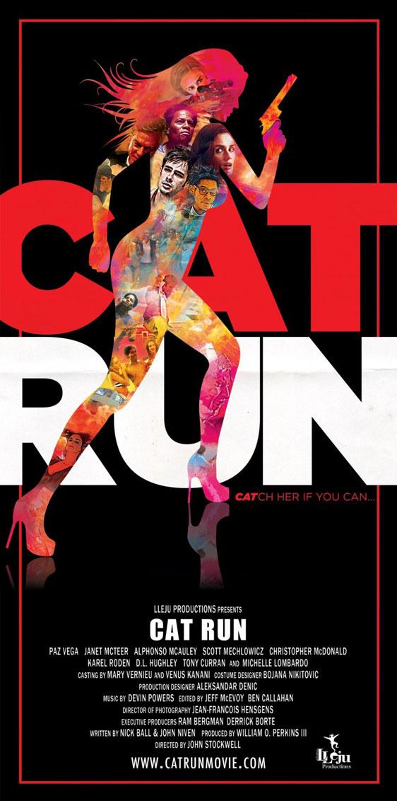 Cat Run Poster #2