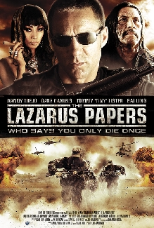 The Lazarus Papers Poster #1
