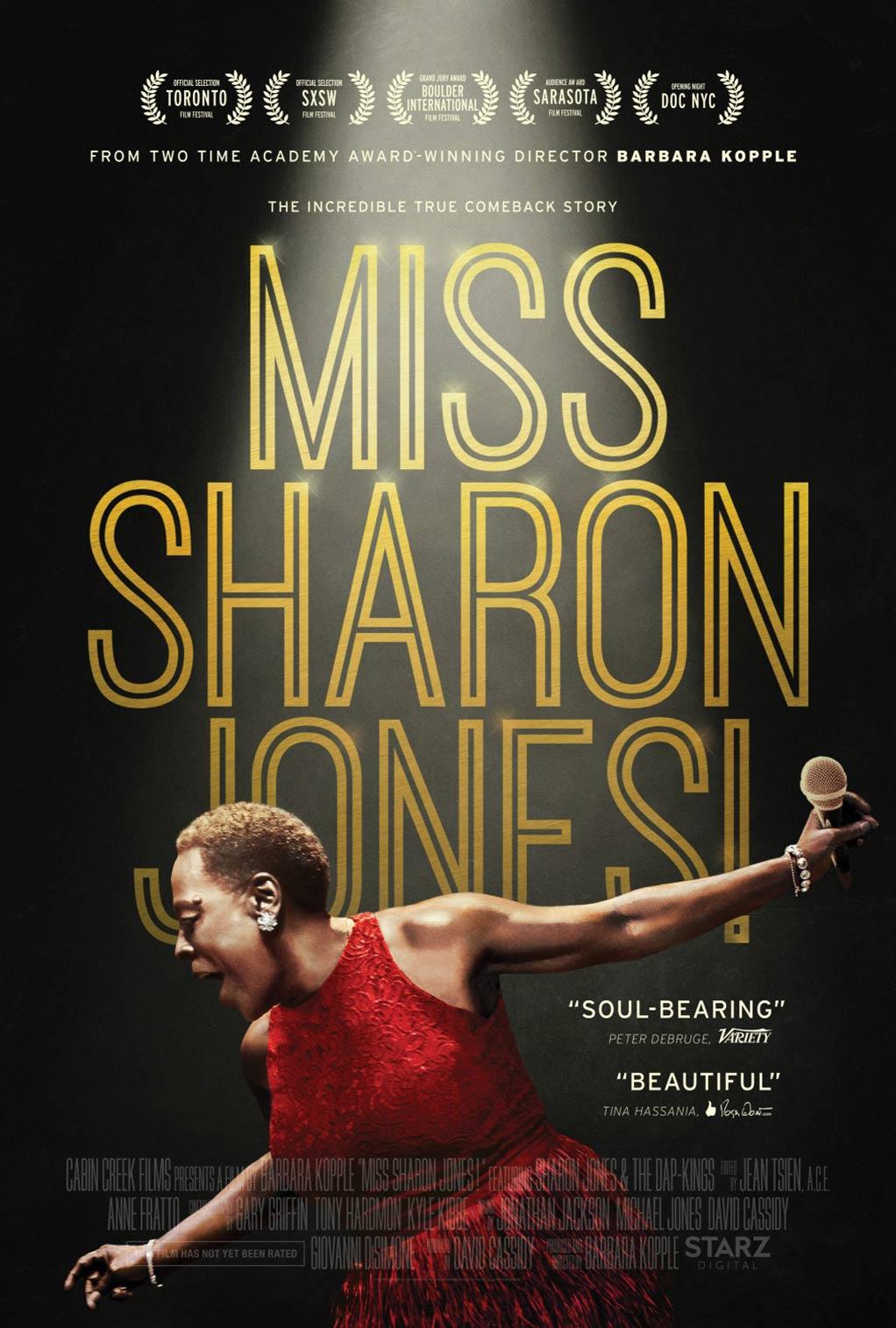 Miss Sharon Jones! Poster #1