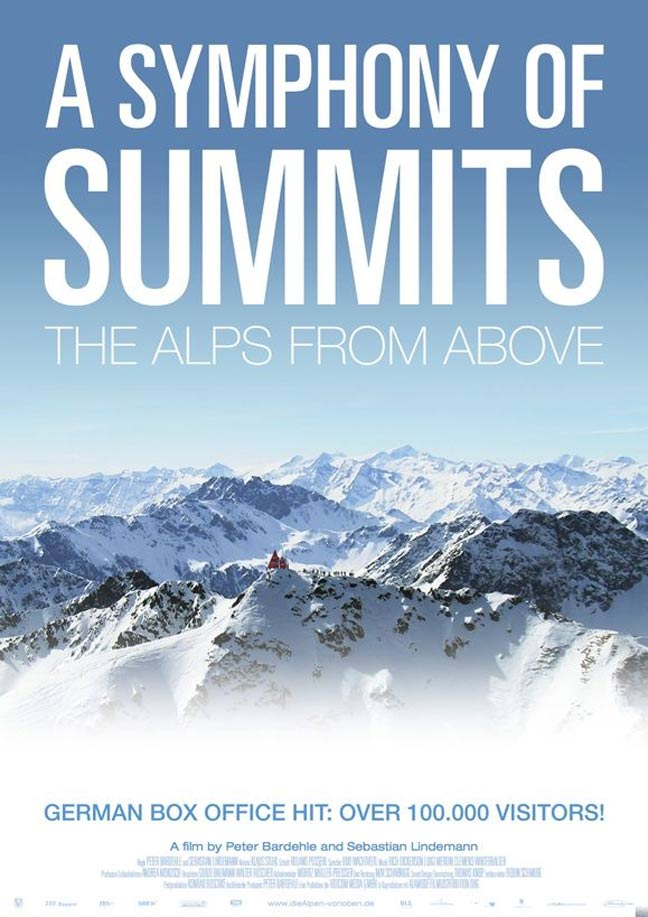 The Alps from Above: A Symphony of Summits Poster #1