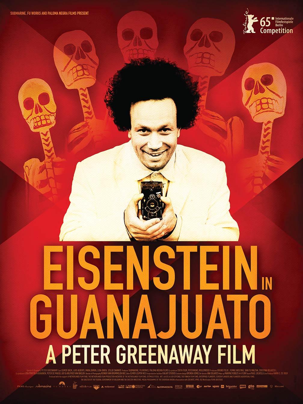 Eisenstein in Guanajuato Poster #1