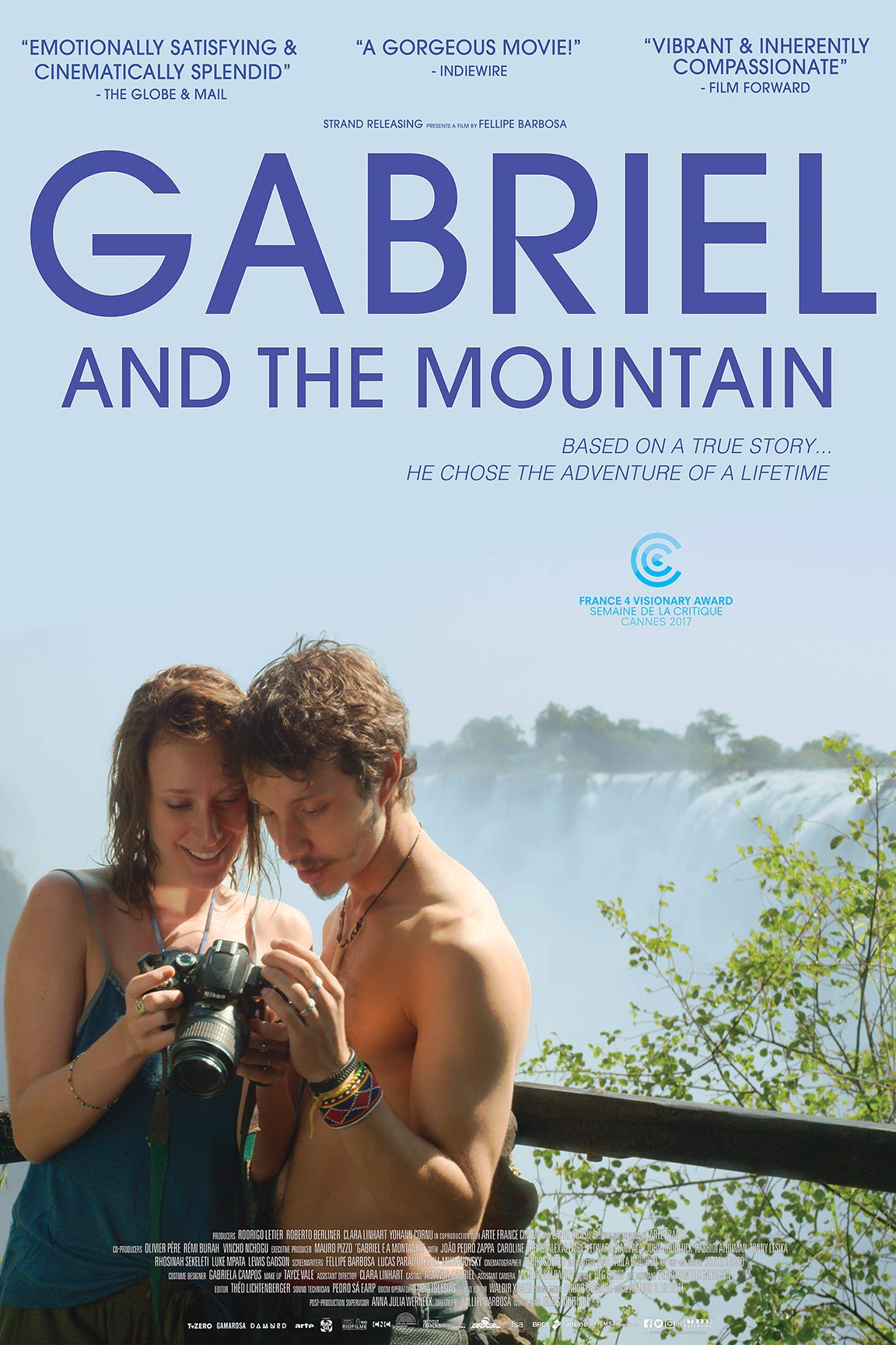 Gabriel and The Mountain Poster #1