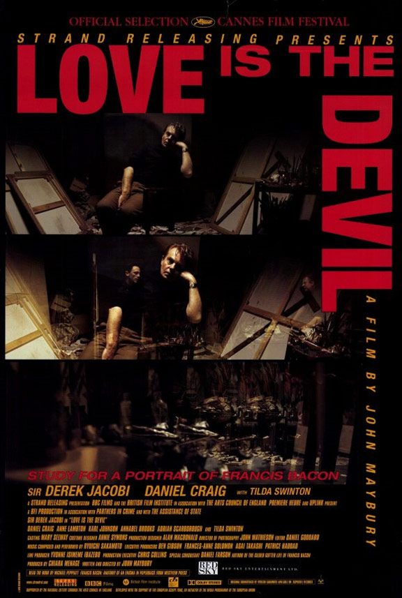 Love Is the Devil Poster #1