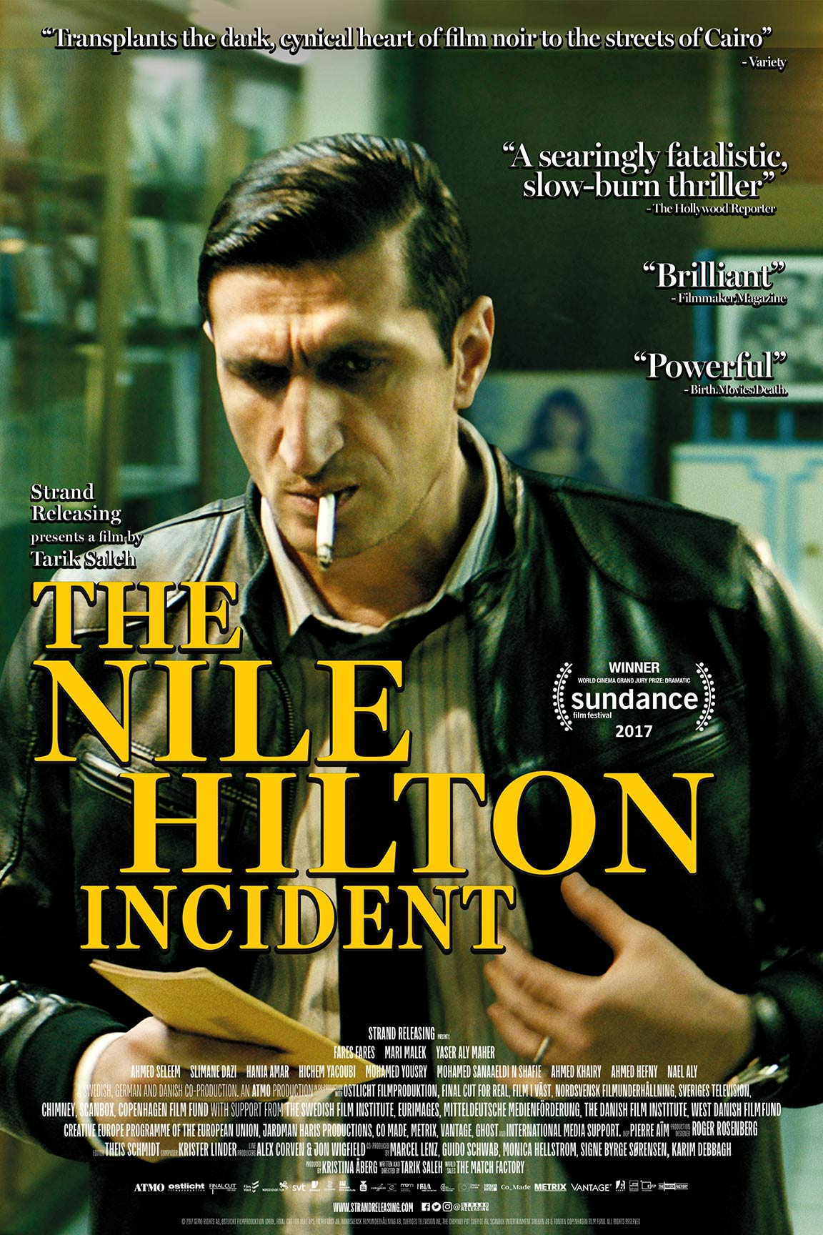 The Nile Hilton Incident Poster #1