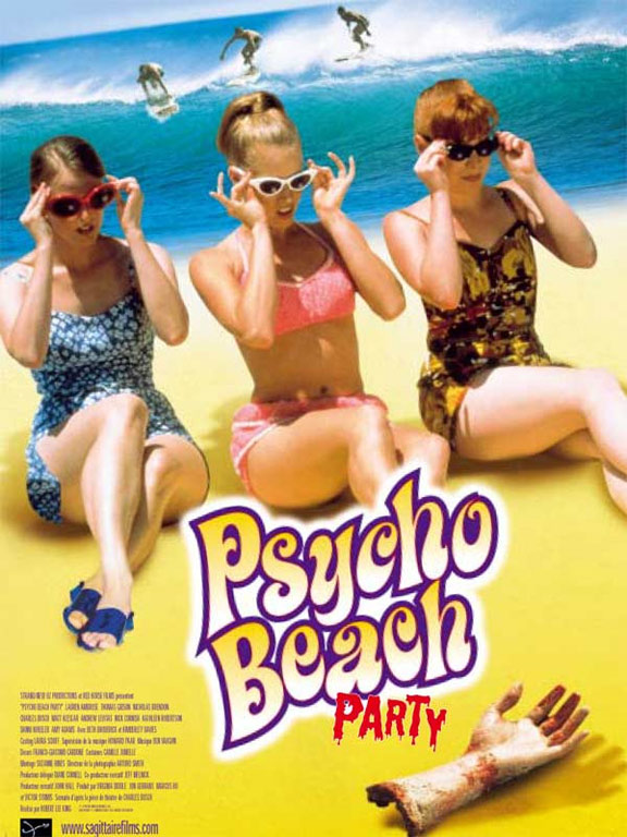 Psycho Beach Party Poster #1